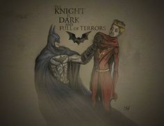 #Batman meets #Asoiaf. Such. A. Win.