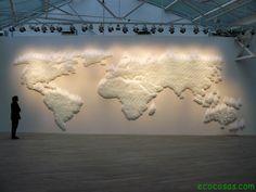 artistas que trabajan con mapas - Buscar con Google