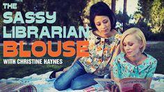 Sassy Librarian Blouse