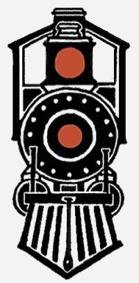 polar express train made out of stacked boxes black oak tag paper rh pinterest com polar express bell clipart polar express clip art black and white