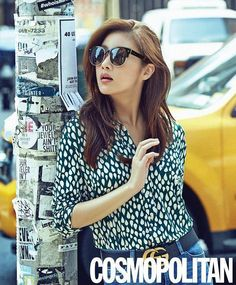 Kang So Ra is a chic New Yorker for 'Cosmopolitan' | allkpop.com