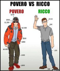 Povero - Ricco   BESTI.it - immagini divertenti, foto, barzellette, video