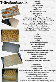 Tränchenkuchen