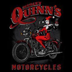 Harley Quinn's Motorcycles #batman #dccomics