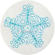 Blue snowflake pattern | Flickr - Photo Sharing!