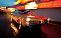 And the King of American Muscle Cars! The 1967 Pontiac GTO!