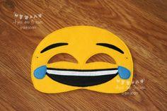 Emoji Inspired Masks Emotions Masks Mobile phone emoji Phone Emoji, Embroidery Thread, Cool Kids, Wool Blend, Masks, Felt, Inspired, Etsy, Inspiration