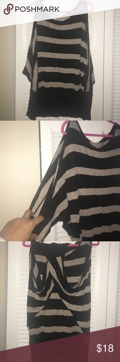Dolman sleeve top Dolman sleeve top, has slits down arms of sleeves. Worn several times still in great condition! Does stretch Arden B Tops