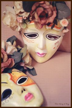 Hand Painted Masks