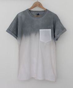 Gradation, this affects it because it makes it look not as dull as just a grey or white shirt