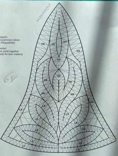 Bobbin Lace, Triangle, Gardening, Abstract, Tattoos, Crochet, Artwork, Pattern, Beautiful