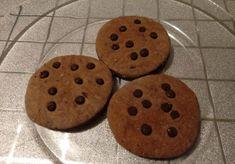 Biscotti pan di zenzero con gocce di cioccolato