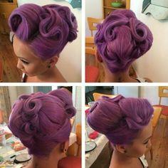 Rockabilly purple