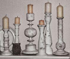 my shabby my dream      : Świeczniki w natarciu DIY