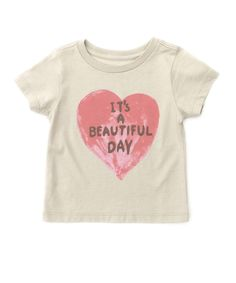 Its a Beautiful Day Tee - Little Peanut Essentials - Shop - baby girls | Peek Kids Clothing