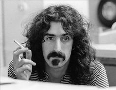 """Charlie Steiner     Frank Zappa During the Recording Sessions for """"We're Only In It For The Money,"""" New York City     1967"""