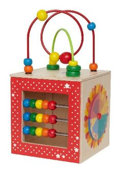 Hape Discovery Box Hape Discovery Box is a five sided activity box with plenty of activities to discover. Topped with a wire bead maze this wooden box has a mirror colour wheel spinning face and abacus.... (Barcode EAN= http://www.MightGet.com/january-2017-12/hape-discovery-box.asp