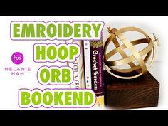 Embroidery Hoop Orb Bookend - HGTV Handmade - YouTube