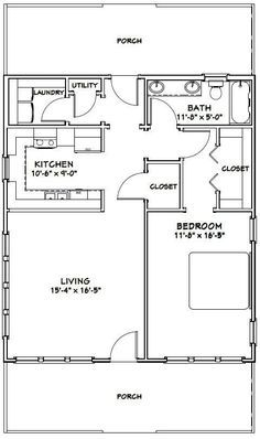 28x32 House -- #28X32H1B -- 895 sq ft - Excellent Floor Plans by darcy