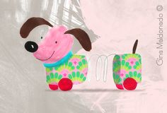 Dog in wheels Gina Maldonado ©