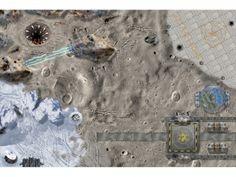 Weltraum Spielmatte / Spielteppich für das Kinderzimmer