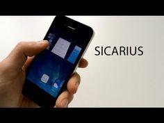 Tweak Cydia  Sicarius - Le multitâche d'iOS 7 en 3D