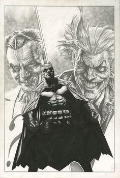 BATMAN: GOTHAM KNIGHTS #51 COVER ( 2004, LEE BERMEJO )  Comic Art