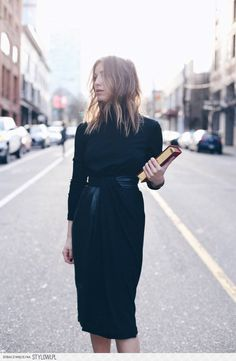 vionnet draped dress | The August Diaries na Stylowi.pl