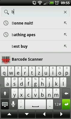 Mobile Android Google Search