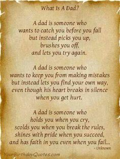 I luv you and miss you dad...