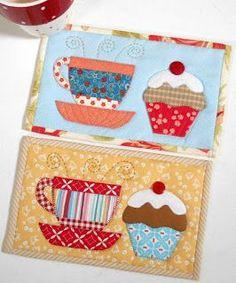 Tea and Cake Mug Rug