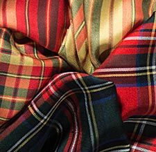 Lauder: Royal Connections collection Some tartans with Royal associations, in gorgeous pure spun silk