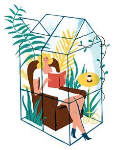 Mi rincon de lectura: Mejor imposible (ilustración de Iker Ayestaran)