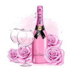 Pink champagne is in . - # in # Pink # champagne # is Moet Chandon, Fashion Wallpaper, Fashion Wall Art, Everything Pink, Pink Champagne, Champagne Quotes, Iphone Wallpaper, Illustration Art, Illustrations