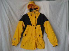 Helly Hansen Hooded Thinsulate Waterproof Breathable Womens Ski Snow Jacket - M #HellyHansen #BasicJacket #Casual