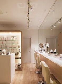 Nulty - Cosmetics a la Carte, London - Skincare Brand Experience Retail Interior Lighting Scheme