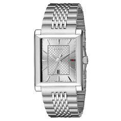 a86223fa84c Men  s Gucci Watch G-Timeless Rectangular Medium YA138403 Quartz... for