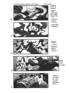 Example Of Storyboarding The Golden Compass