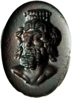 Lot 61 – Serapis 2nd-3rd cent. – Antiquities - An Important Selection of Engraved Gems and Cameos 12 Dec 2012