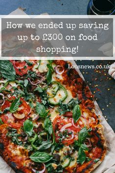 How we ended up saving up to £300 on food shopping!  