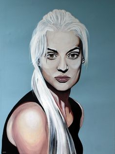 Laura  60cm x 80cm  Acrylic on canvas