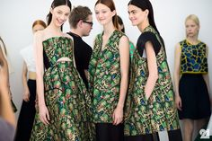 Backstage at Delpozo, Spring/Summer 2015 | New York City
