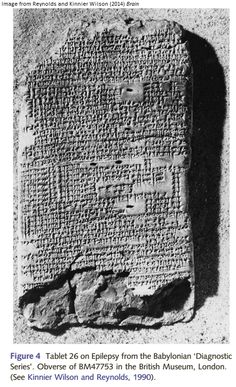 How much did the ancient Babylonians know about conditions like epilepsy?  They might have thought it was caused by demonic possession, but their clinical observations were pretty accurate.  Neuroskeptic finds out more for Discover Magazine.