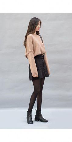02c96c77888b Woolen Double-Breasted Coat