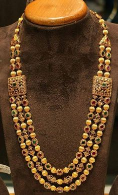 Multilayer haram from Chandra Sekhar Jewellers