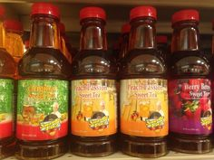 Sweetie Pie's Sweet Teas: Original, Berry Berry and Peach Passion...Miss Robbie's secret sweet tea recipe...