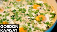 Smoked Haddock & Spinach Baked Eggs | Gordon Ramsay - YouTube