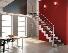 Escaleras rectas de hierro1