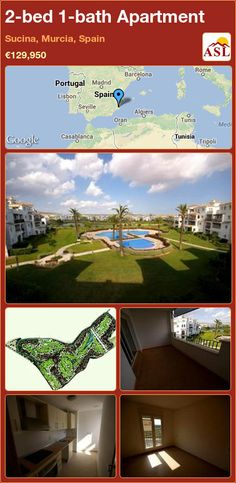 2-bed 1-bath Apartment in Sucina, Murcia, Spain ►€129,950 #PropertyForSaleInSpain