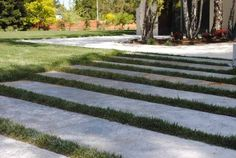 loose set-long pavers with ground cover.  ~ Harmony in the Garden, Rebecca Sweet
